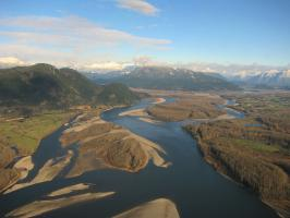 Fraser River gravel reach
