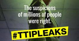 the suspicions of millions of people were right #TTIP Leaks