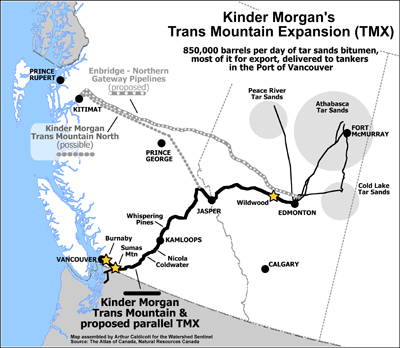 Pipeline route