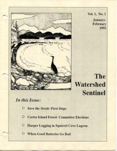 watershed sentinel vol 1 no 1