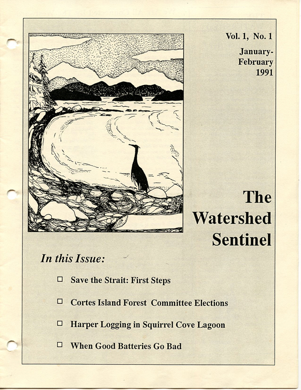 watershed sentinel vol 1 no 1