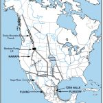 NAWAPA (North American Water and Power Alliance) Map