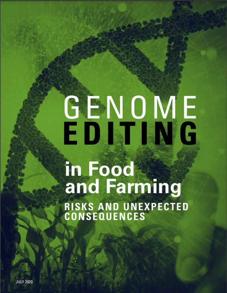 Genome Editing Report Cover